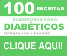 100 receitas saborosas para diabéticos